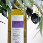Picture of a bottle of Brushwoods extra virgin olive oil
