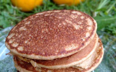 Cinnamon and Lemon Pancakes